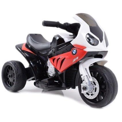 Электромотоцикл BMW S1000RR Red (трицикл, 6V) - JT5188 (музыка, свет фар)