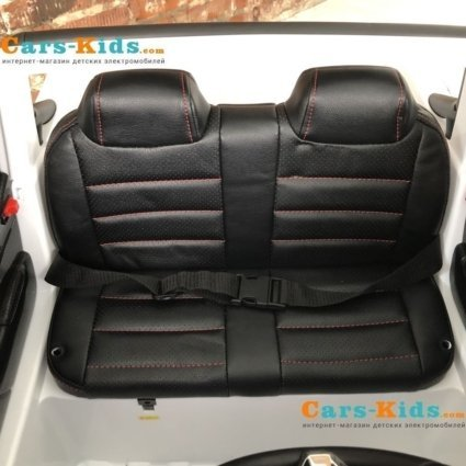 Электромобиль Mercedes-Benz X-Class 4WD XMX606 белый ( 2х местный, полный привод, резина, кожа,пульт, музыка)