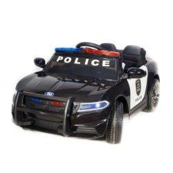 Электромобиль Dodge Police (полиция, рация, колеса резина, кресло кожа, пульт, музыка)